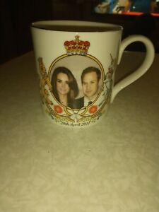 Prince William And Kate Commemorative Wedding Cup