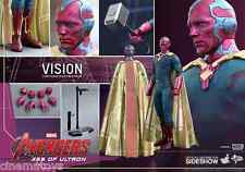 MARVEL Vision Sixth Scale Action Figure Hot Toys Avengers Age of Ultron Sideshow