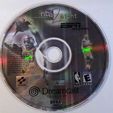 NBA NIGHT 2 ESPN THE GAMES (DREAMCAST GAME) (DISC ONLY) 1628