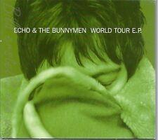 CD--ECHO & THE BUNNYMEN -- - SINGLE -WORLD TOUR EP- *EVERGREEN EP*
