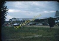 Convair B36 571 Cessna XT37 35mm Slide Original Kodachrome Air Force Museum 50s