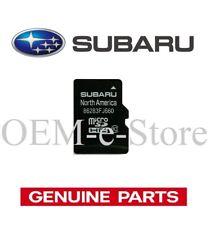 2018 Subaru Forester WRX STI GPS Navigation Micro SD card U.S Canada Map 100%OEM