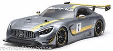 Tamiya 300051590 Carrocería Juego Mercedes AMG GT3 SIN LACAR