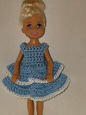 Handmade Chelse/Kelly mattel doll clothes - Light Blue