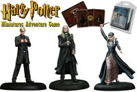 HARRY POTTER: MINIATURES ADVENTURE GAME – Lucius, Draco & Narcissa Malfoy Family