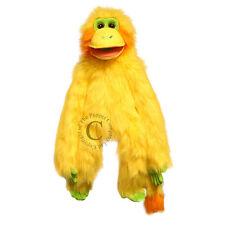 Handpuppe  Klappmaulpuppe  Affe 50cm - Farbe: gelb