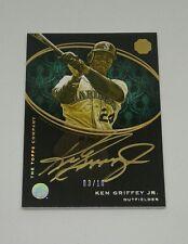 2016 Topps The Mint Golden Engravings Green Ken Griffey Jr ON CARD AUTO! SSP /10