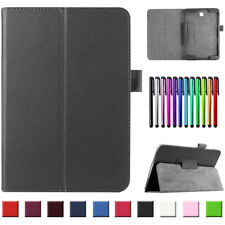 For Samsung Galaxy Tab S S2 S3 Tablet Ultra Thin Leather Folio Case Stand Cover