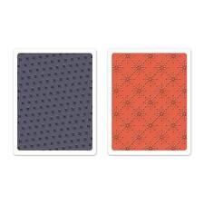 Sizzix A2 Embossing Folders 2PK - Yuletide Boulevard Set - 659999