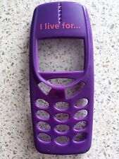 MOBILE PHONE FRONT FASCIA / HOUSING / COVER FOR NOKIA 3310 3330 - PURPLE DESIGN