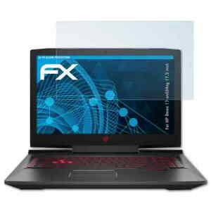 atFoliX 2x Screen Protector for HP Omen 17-an034ng 17,3 inch clear