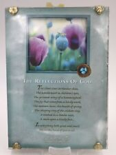 Paula Reflections of God Religious Inspirational Decor Wall Hanging Plaque