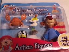 PIP AHOY SKIPPER HOPPER PASTY AND ALAN Action Figure con parti in movimento