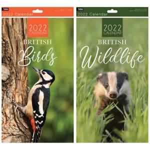 2022 Super Slim Month To View Year Birds and UK Wildlife UK STOCK