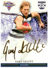 2007 Select AFL Champions Gold Foil Printed Signature FS39 Gary Ablett (Geelong)