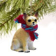 Conversation Concepts Chihuahua Miniature Dog Ornament - Fawn