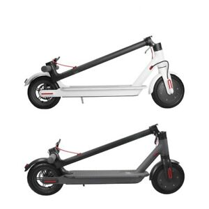 Folding Adult Electric Scooter 25-30 KMH Max Speed E-scooter White/Black Color