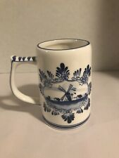 Delft Blue Handpainted Mug