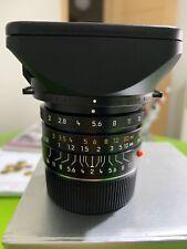 Leica obiettivo summicron-M 28mm 1:2 28MM ASPH. 11604 NUOVO MAI UTILIZZATO