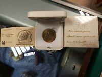 Rarissima medaglia celebrativa ufficiale Giovanni Paolo II da collezione