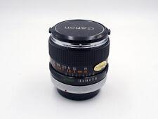 Canon FD 24mm 2.8 Chrome Silver Nose (A7, m4/3, MFT, Fuji X) - #29950