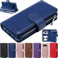 For Samsung Galaxy S20 S10 S9 S8+ Magnetic Detachable Leather Wallet Case Cover