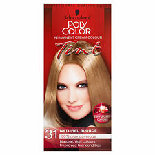 SCHWARZKOPF POLY COLOR TINT NATURAL BLONDE 31 CREAM COLOUR
