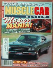 MUSCLE CAR REVIEW 1988 SEPT - MOPARS, JUDGE R-A IV, '67 HEMI R/T, '64 S/S PLYM