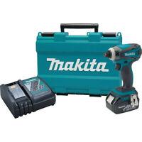 Makita 18V LXT Li-Ion 1/4 in. Impact Driver Kit XDT042 recon