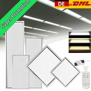 30x30 60x30 120x30 120x60 LED Panel Dimmbar Ultraslim Deckenlampe Pendelleuchte
