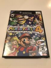 Mario Party 4 (Nintendo GameCube, 2002) COMPLETE! RARE!