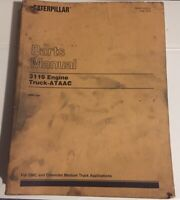 Caterpillar OEM 3116 (2BK1-up) Engine Truck Ataac Parts Manual, GMC/chevy Truck.