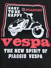 VESPA PIAGGIO MENS T SHIRT LEGENDARY SCOOTER MENS BIKER T-Shirt LAMBRETTA MOD