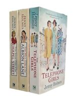 Jenny Holmes 3 Books Romance Family Saga Telephone Girls Shop Girls Chapel New