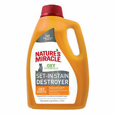 Nature's Miracle Oxy Formula Stain And Odor Removers For Cat, 1 Gallon