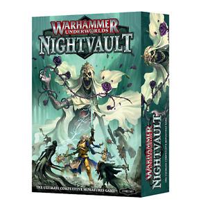 Warhammer Underworlds: Nightvault Grundbox Deutsch Neu & OVP, Out of Print!