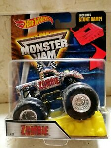 Hot Wheels MONSTER JAM ZOMBIE IPORT USA + RAMPA JUEGO