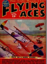 "Flying Aces Magazine March 1937 Vol.25 No.4 ""Raid on a Rebel Drome"""