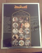 The Jewel in the Crown Framed Poster 1884 RARE approx 24 Inch x 20 Inch