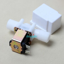 "DC 12V Electric Solenoid Valve 1/2"" Plastic For Water Air N/C Normally Closed US"