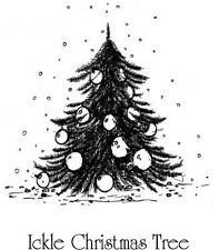Indigoblu A7 tampon en caoutchouc-ickle Arbre de Noël