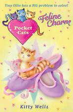 Pocket Cats: Feline Charm, Wells, Kitty, New Book