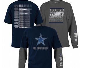 NEW NFL Dallas Cowboys 3-in-1 T-Shirt Combo ~ XL