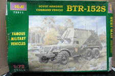 ICM 1/72 SOVIET ARMORED COMMAND VEHICLE BTR-152S MODEL KIT BOXED 72511