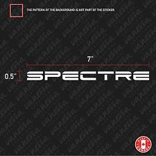 2x SPECTRE PERFORMANCE sticker vinyl decal