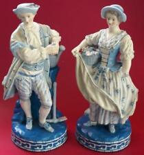 Blue Unboxed Date-Lined Ceramic Figurines