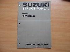Service manual addendum Suzuki TM 250 (1973)
