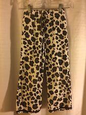 Mini Boden Corduroy Pants Animal Print Brown Size 7-8 Y 7 8 Y