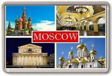 FRIDGE MAGNET - MOSCOW - Large - Russia TOURIST