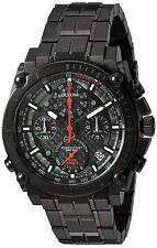 Bulova 98B257 Men's Precisionist Black IP Stainless Steel Chronograph Watch